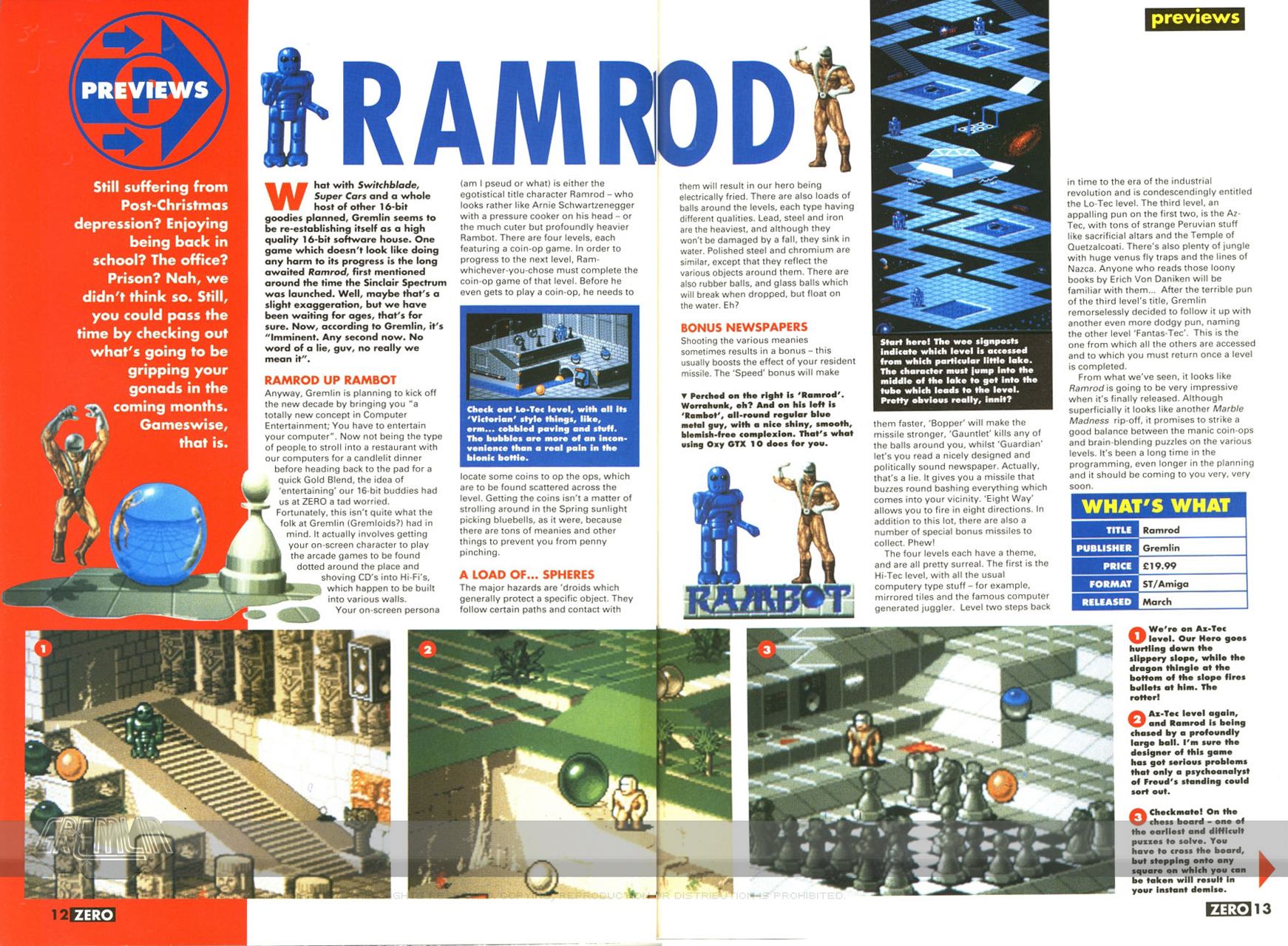 Ramrod Article