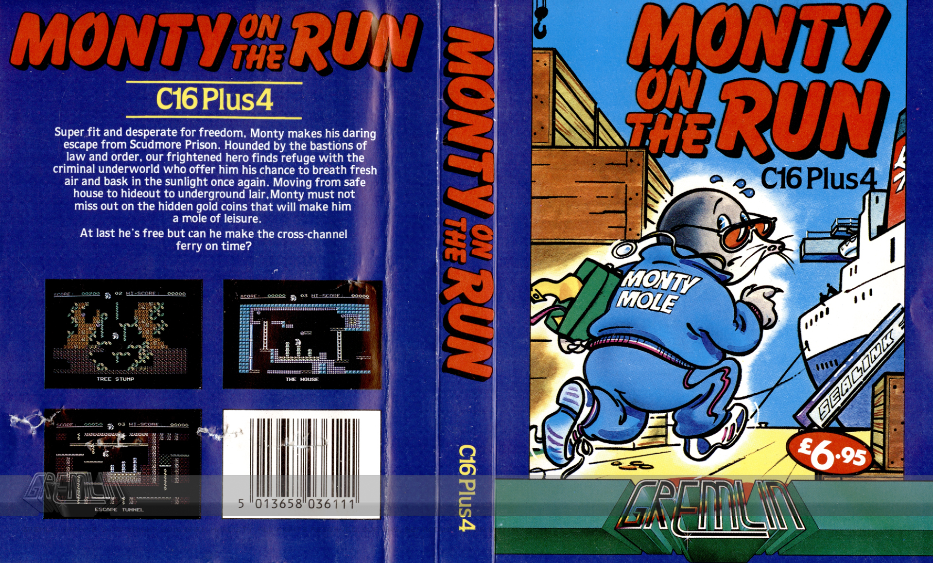 Monty on the Run (C16 Plus/4)