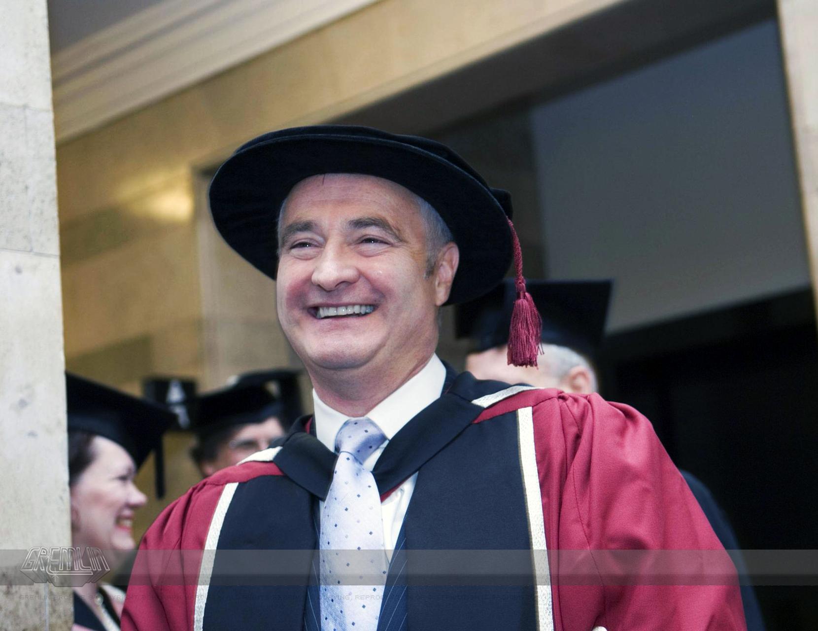 Ian Stewart Honorary Doctrate