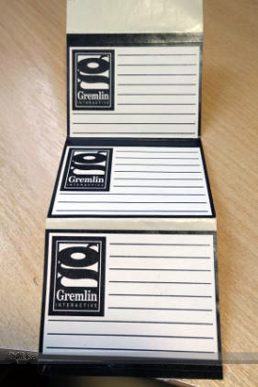Gremlin Interactive 3.5″ floppy labels