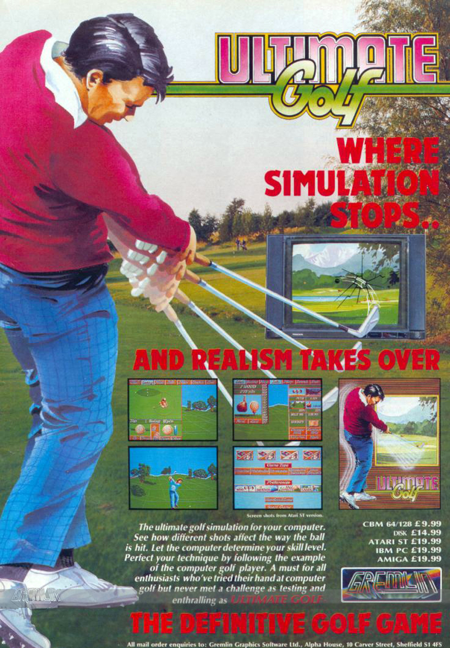 Ultimate Golf Advert