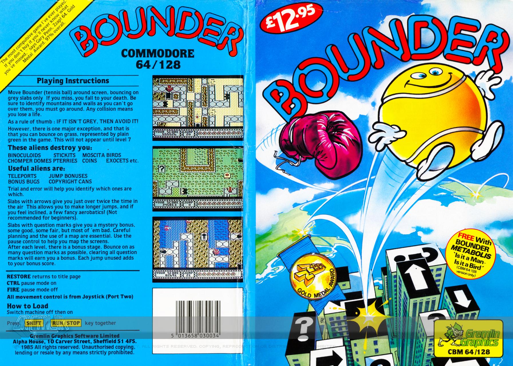 Bounder (C64 Disk)