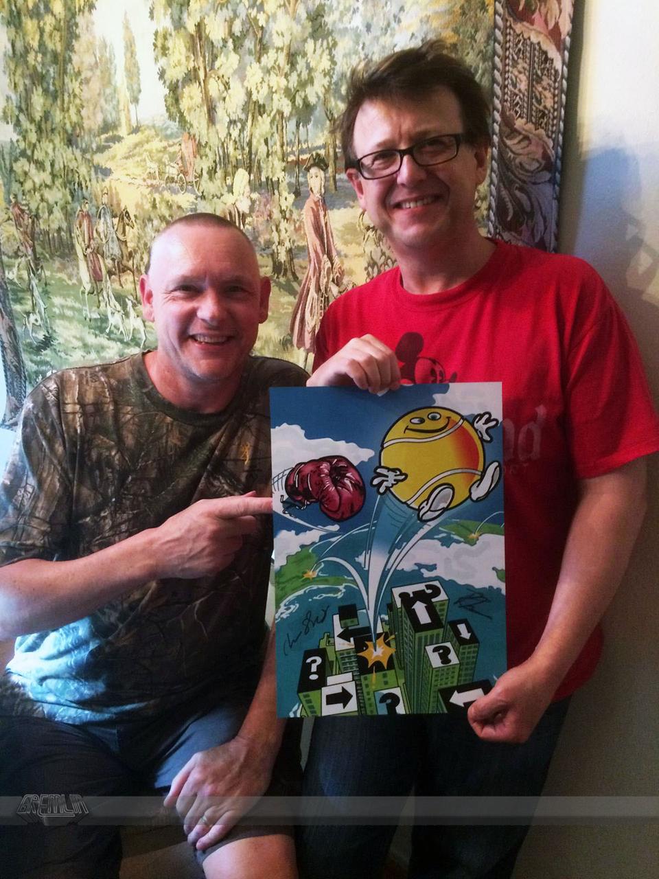Chris Shrigley and Rob Toone