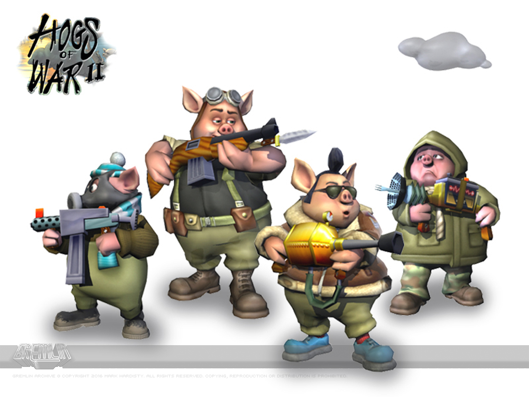 Hogs of War II Concept Artwork