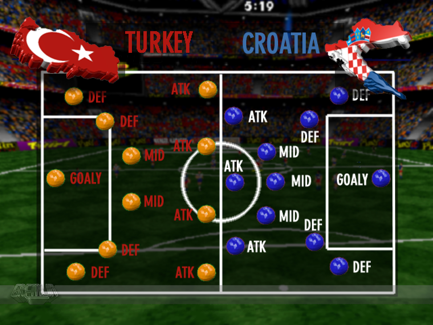 UEFA Euro 96 Source UI Graphics