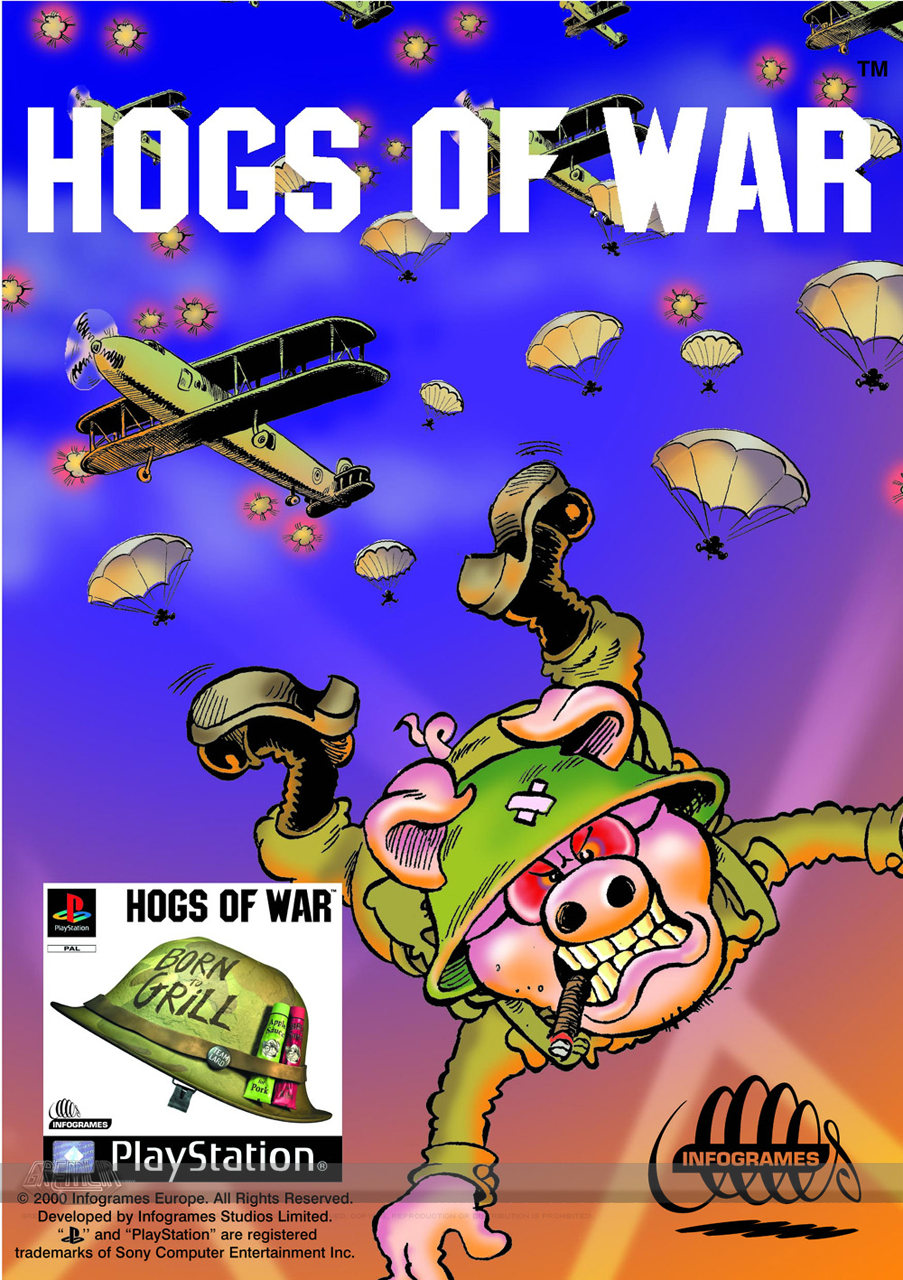 Hogs of War Advert