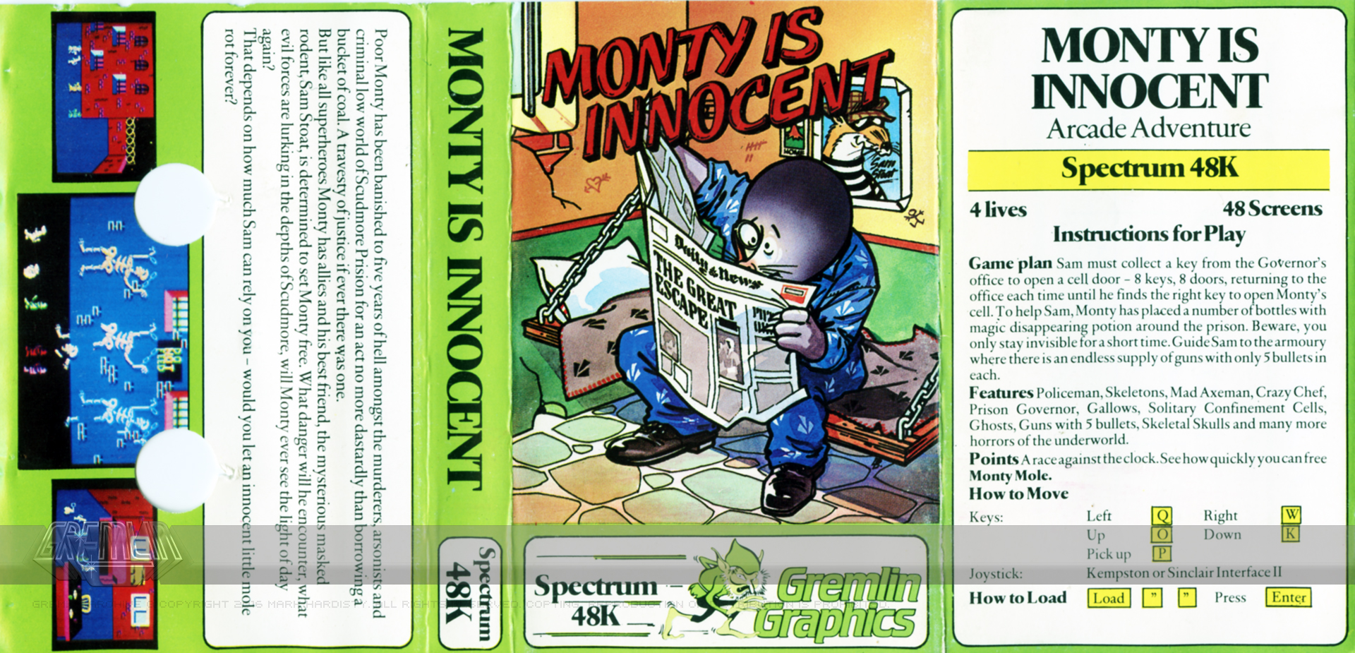 Monty Is Innocent