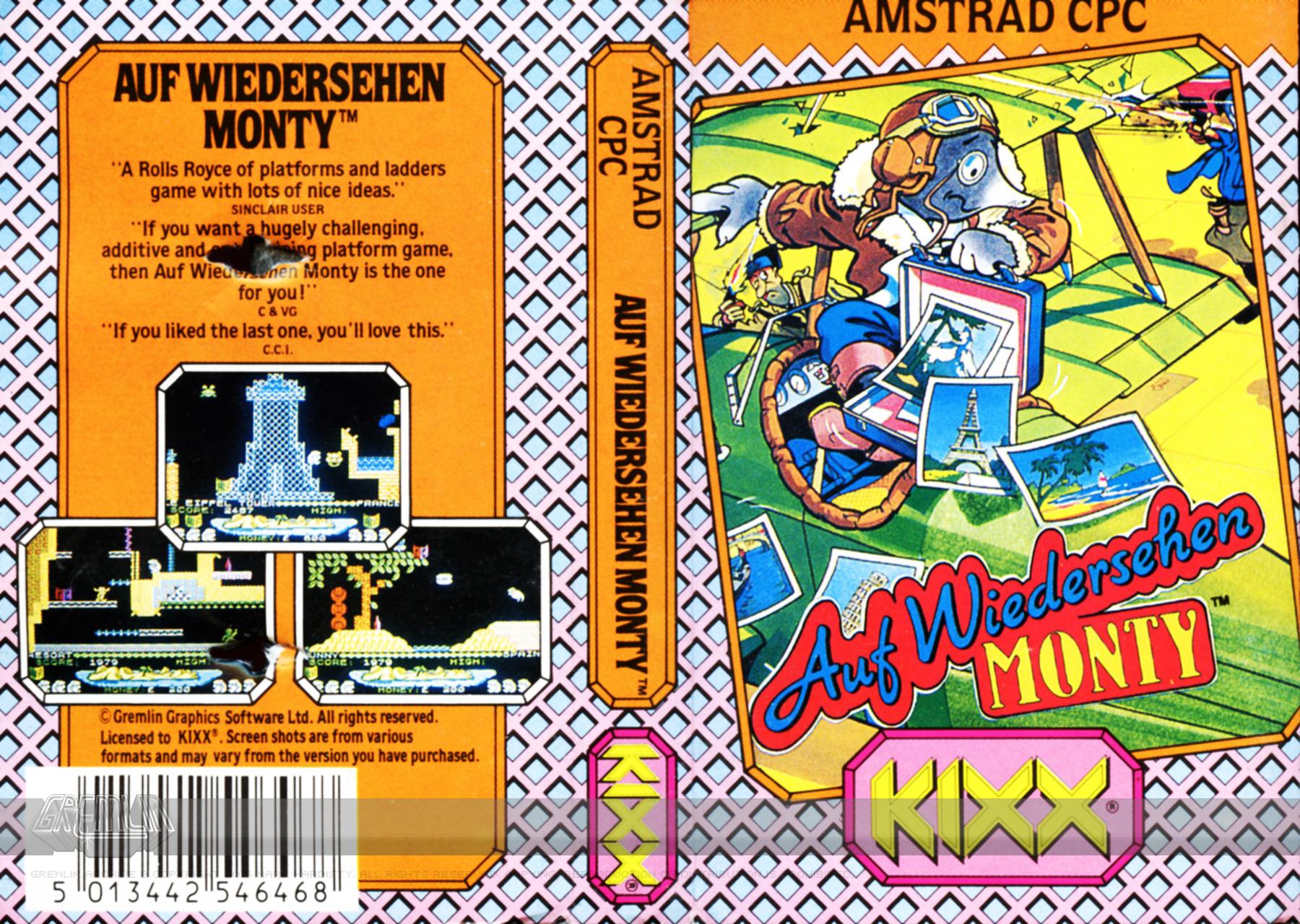Auf Wiedersehen Monty (Kixx Label)
