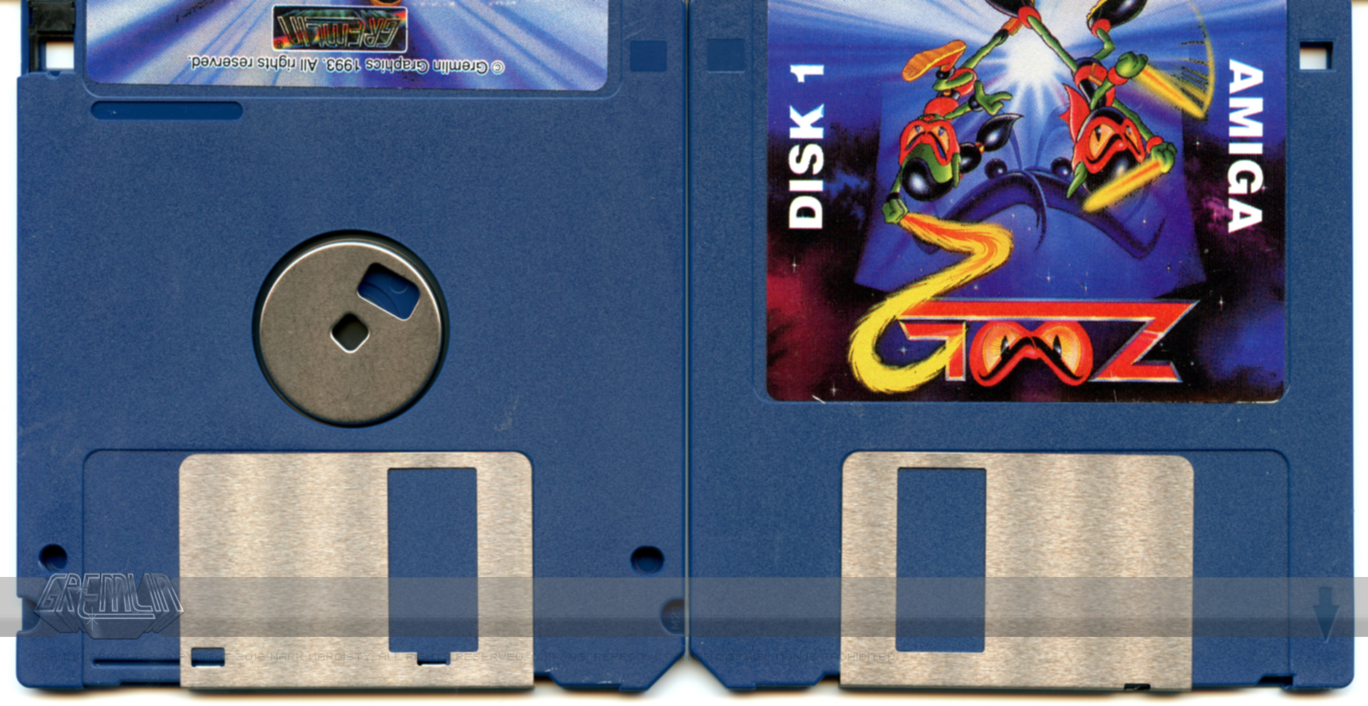 Zool 2 Diskettes