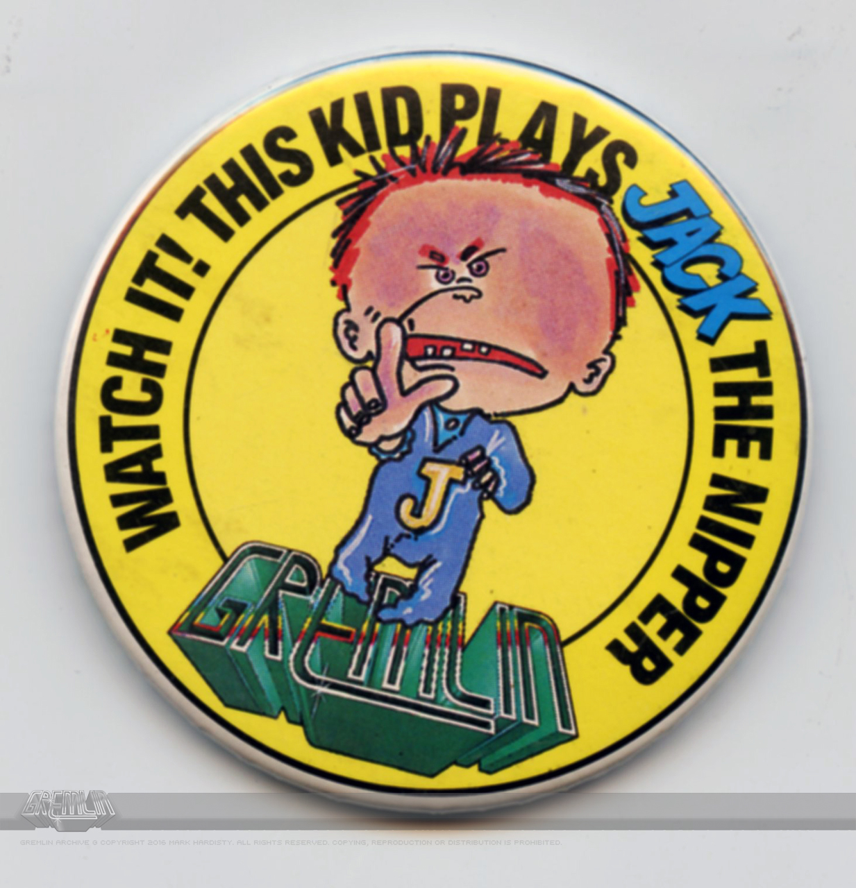 Jack The Nipper Badge