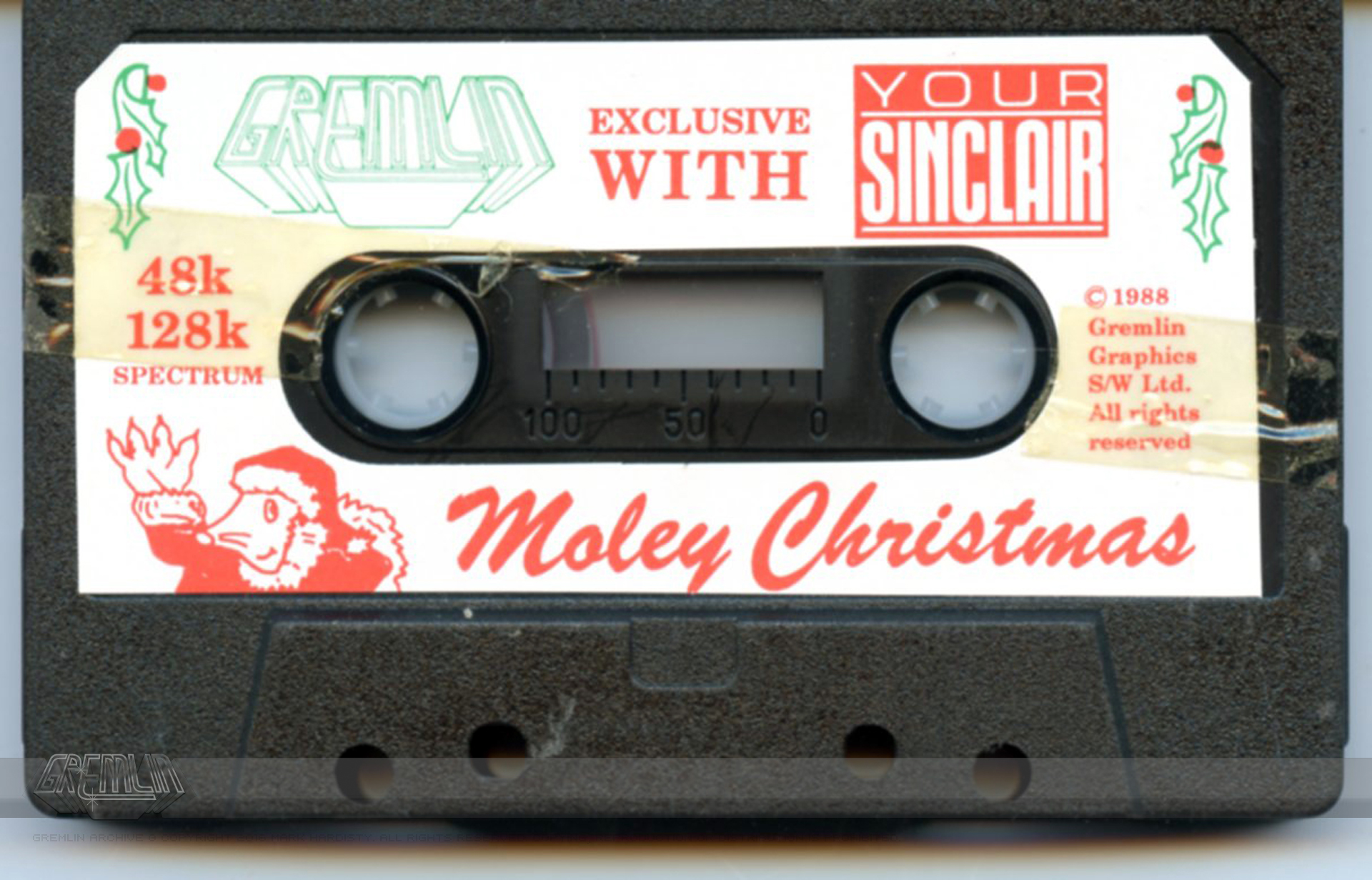 Moley Christmas Cassette