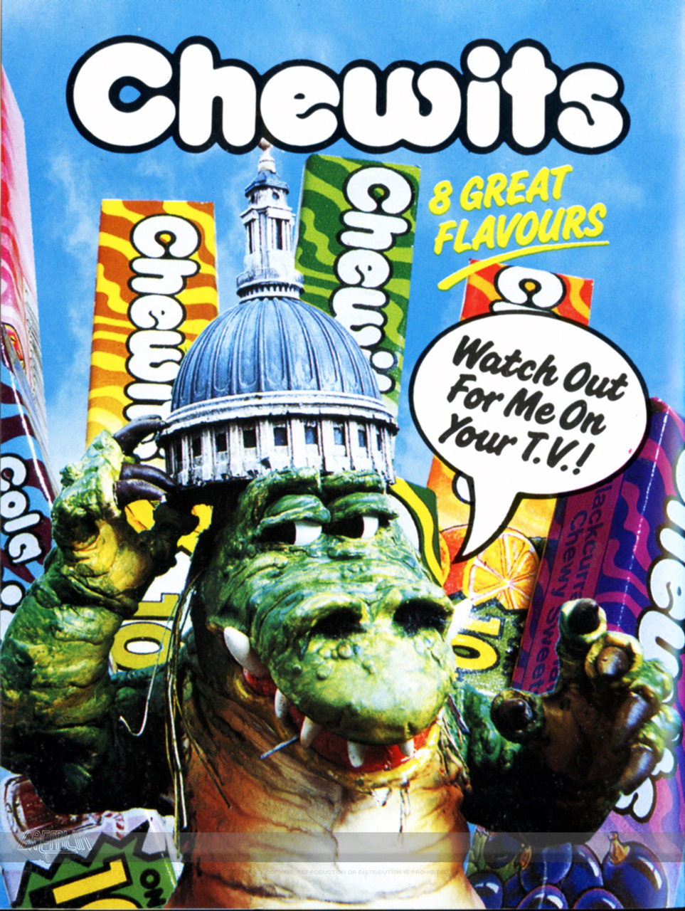 Chewits – Inbox Advert
