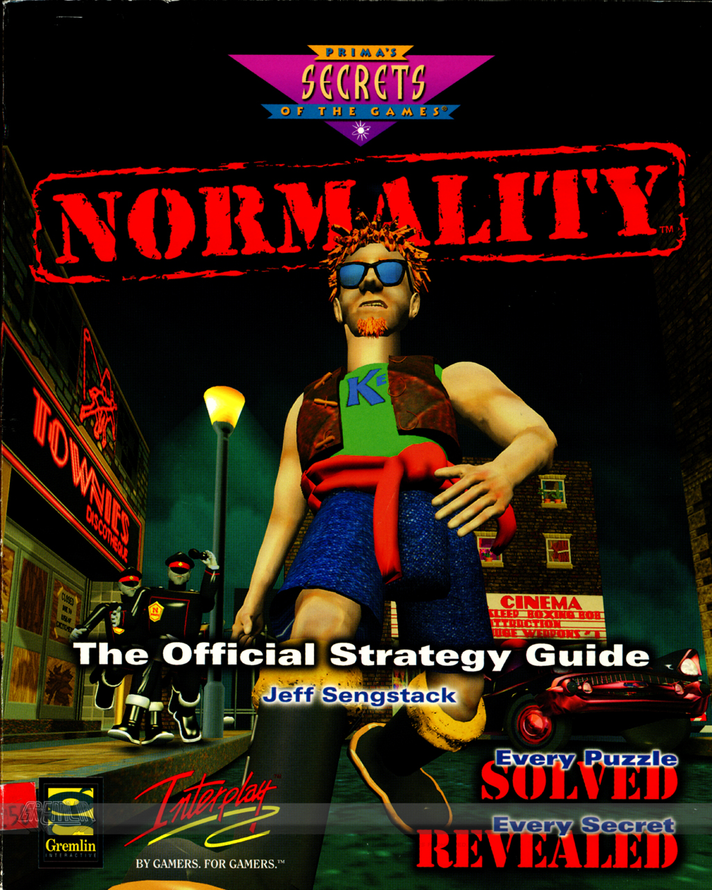 Normality Strategy Guide Concept Artwork (Part 1)