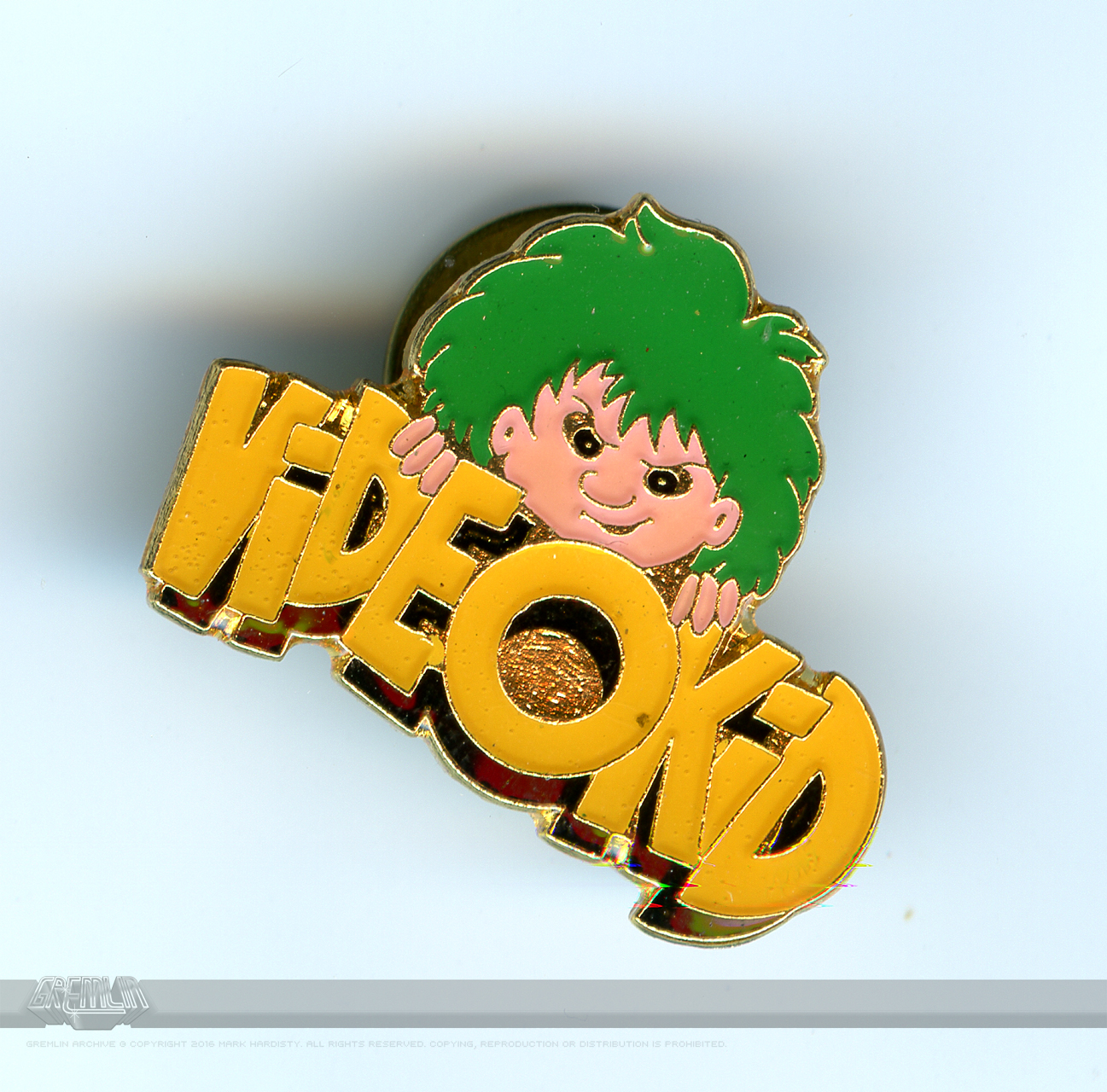 Videokid Le-Pin Badge