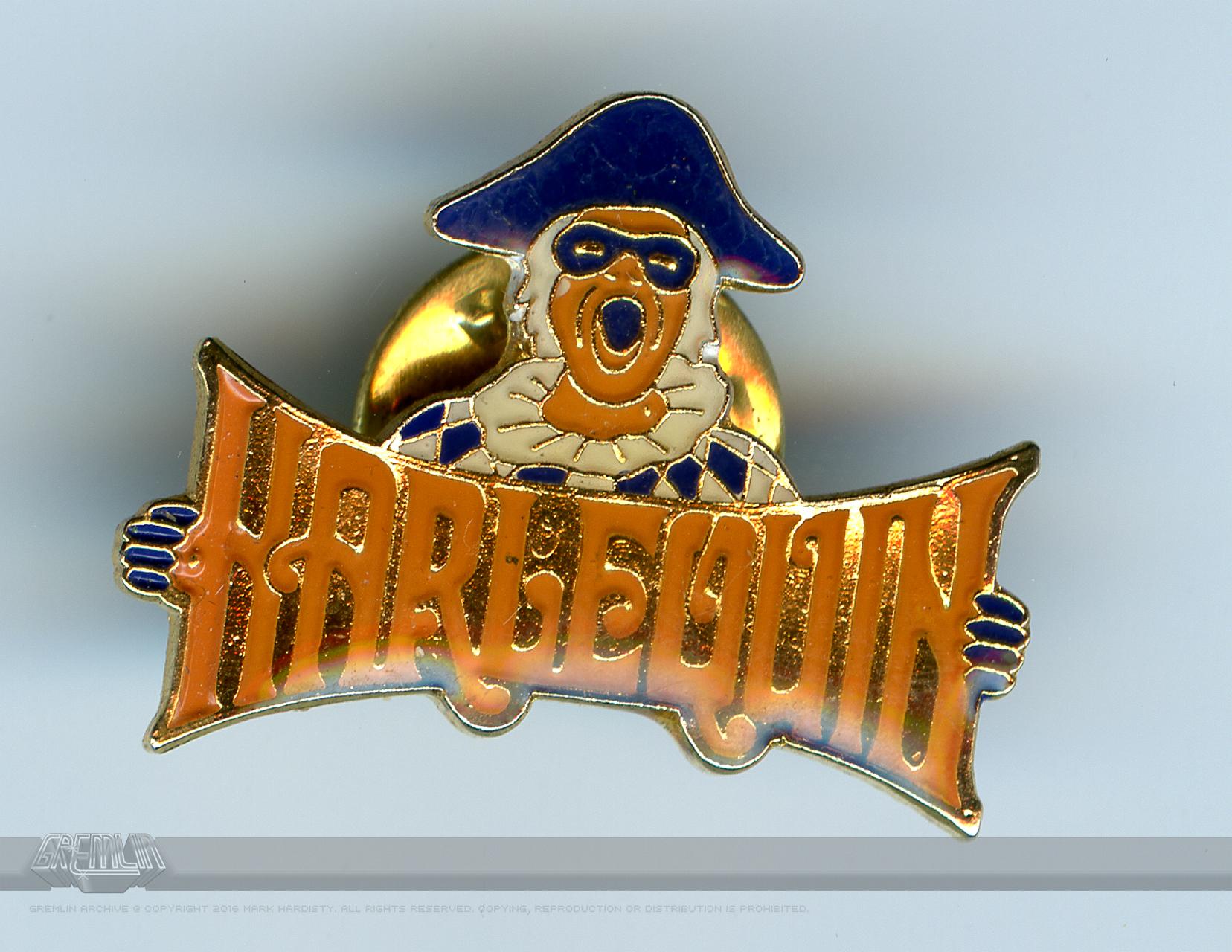 Harlequin Le-Pin Badge
