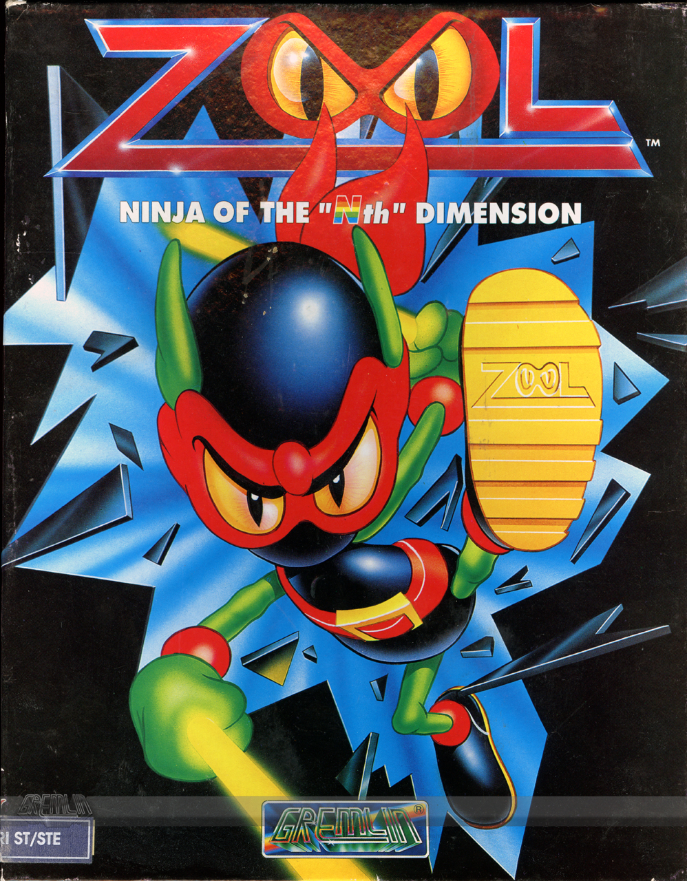 Zool (Atari ST) – The Gremlin Graphics Archive