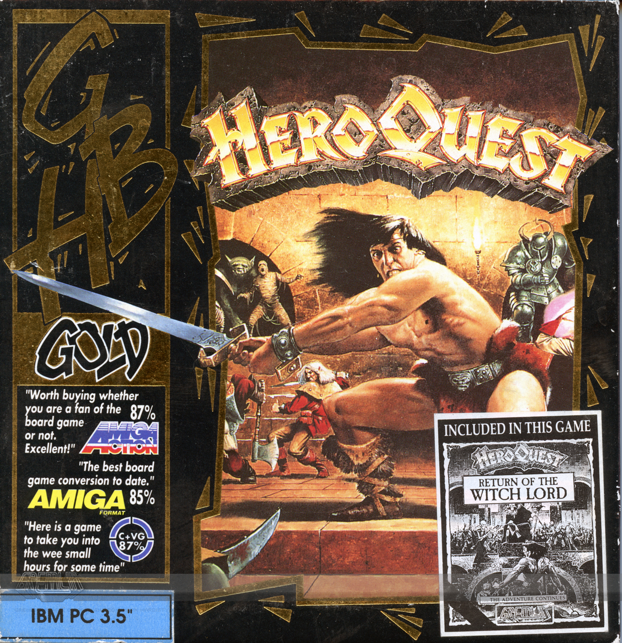 Hero Quest (GBH Label)