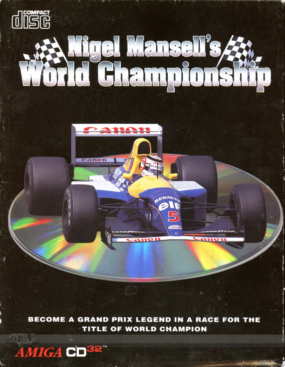 Nigel Mansell's World Championship (Credits, Manual & Media)
