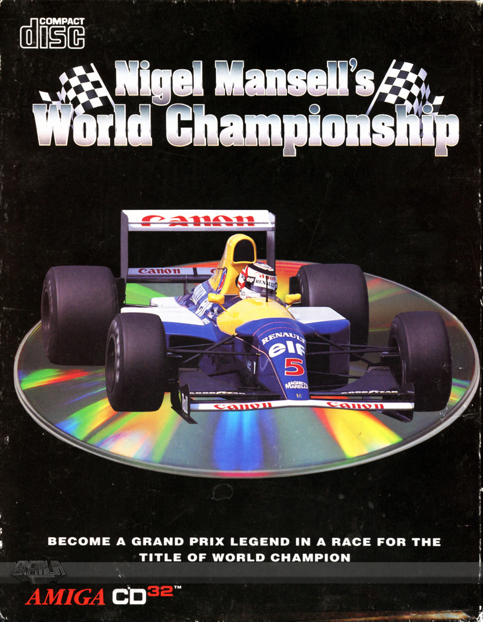Nigel Mansells World Championship (CD32)