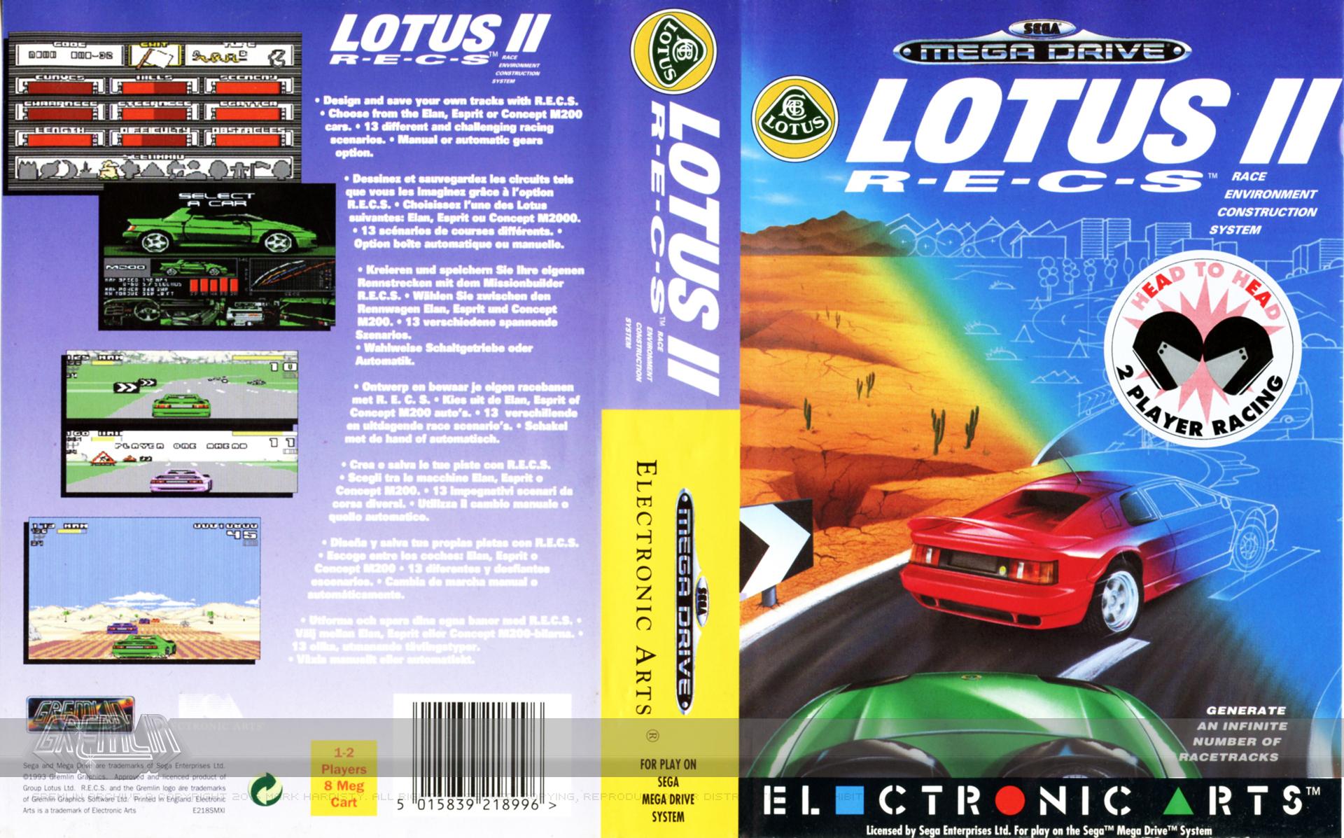 Lotus II: RECS (Megadrive)