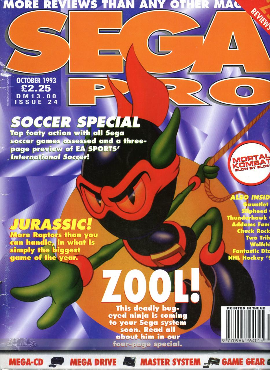Sega Pro October 1993
