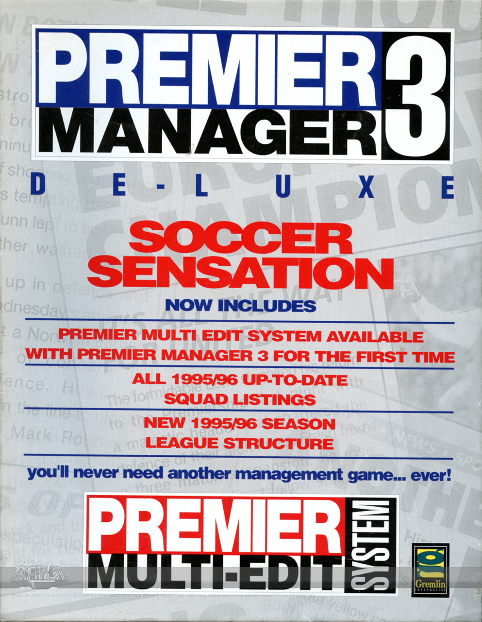 Premier Manager 3 – Deluxe Edition