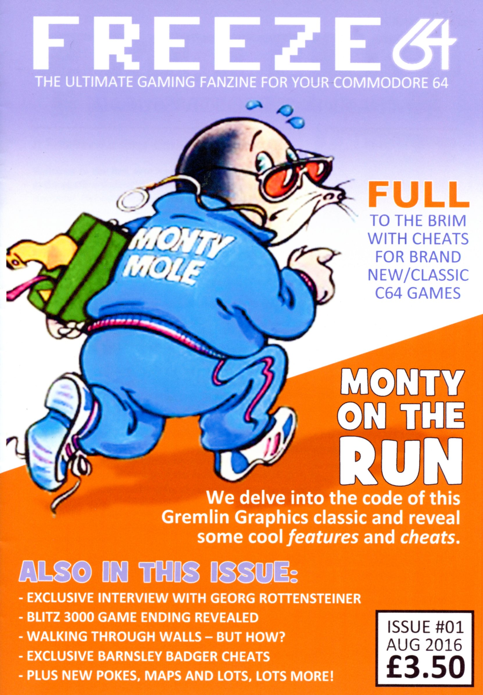 Freeze64 Fanzine (@C64_endings) – Issue 1