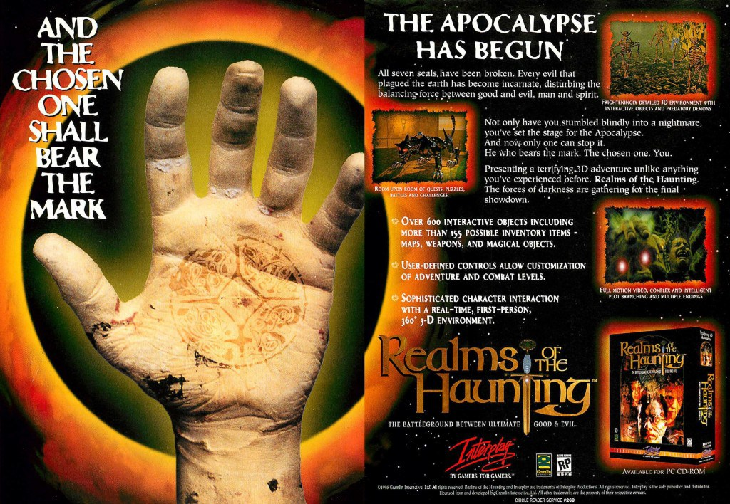 Realms of the Haunting Advert