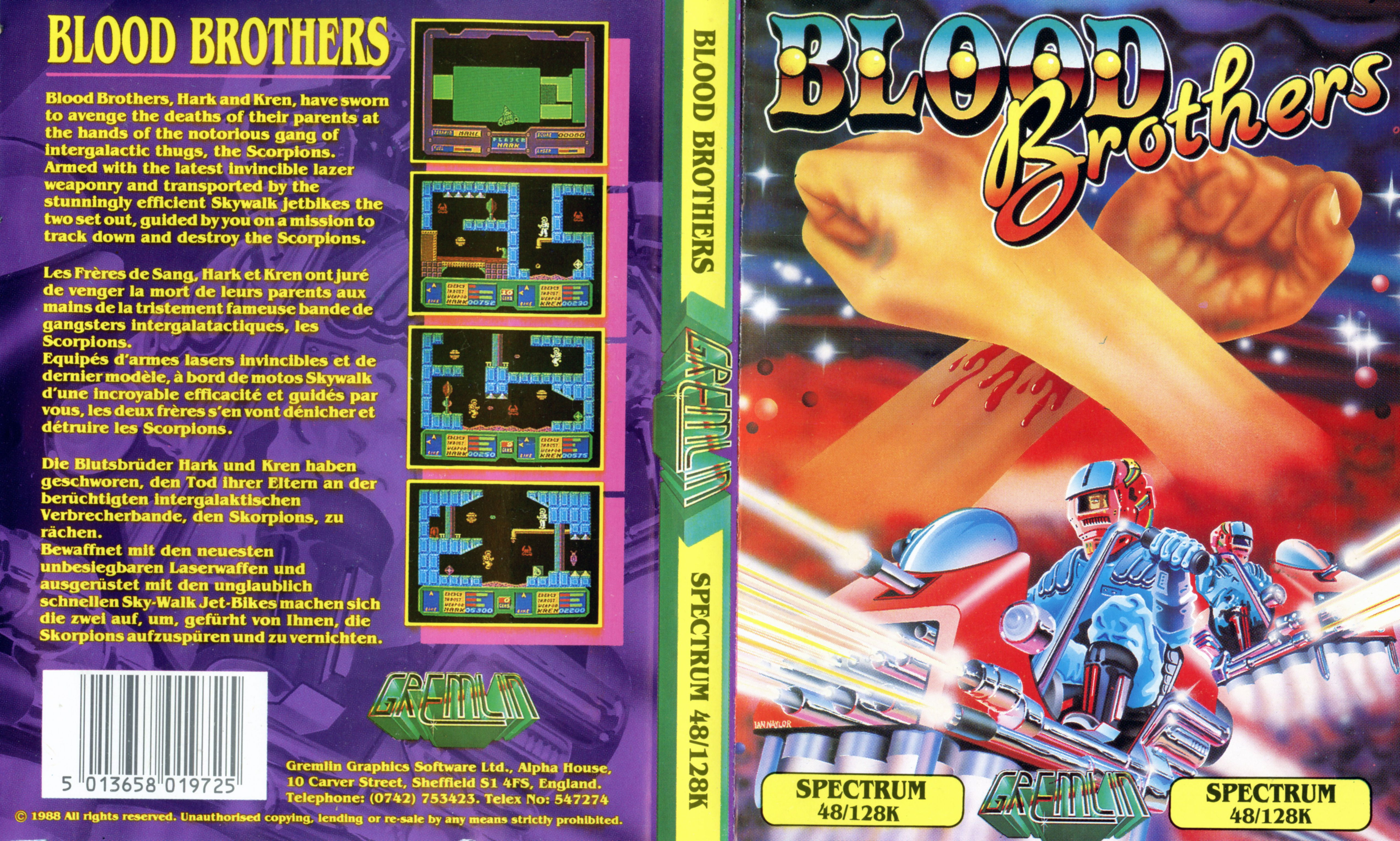 Blood Brothers (ZX Spectrum)