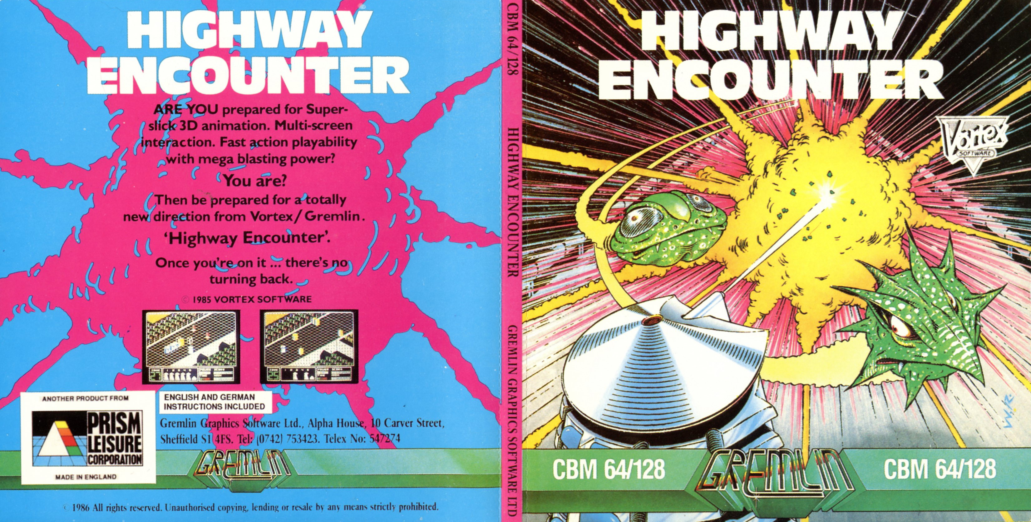 Highway Encounter (C64 Disk)