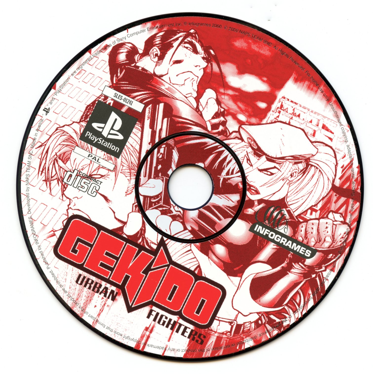 Gekido (Playstation)