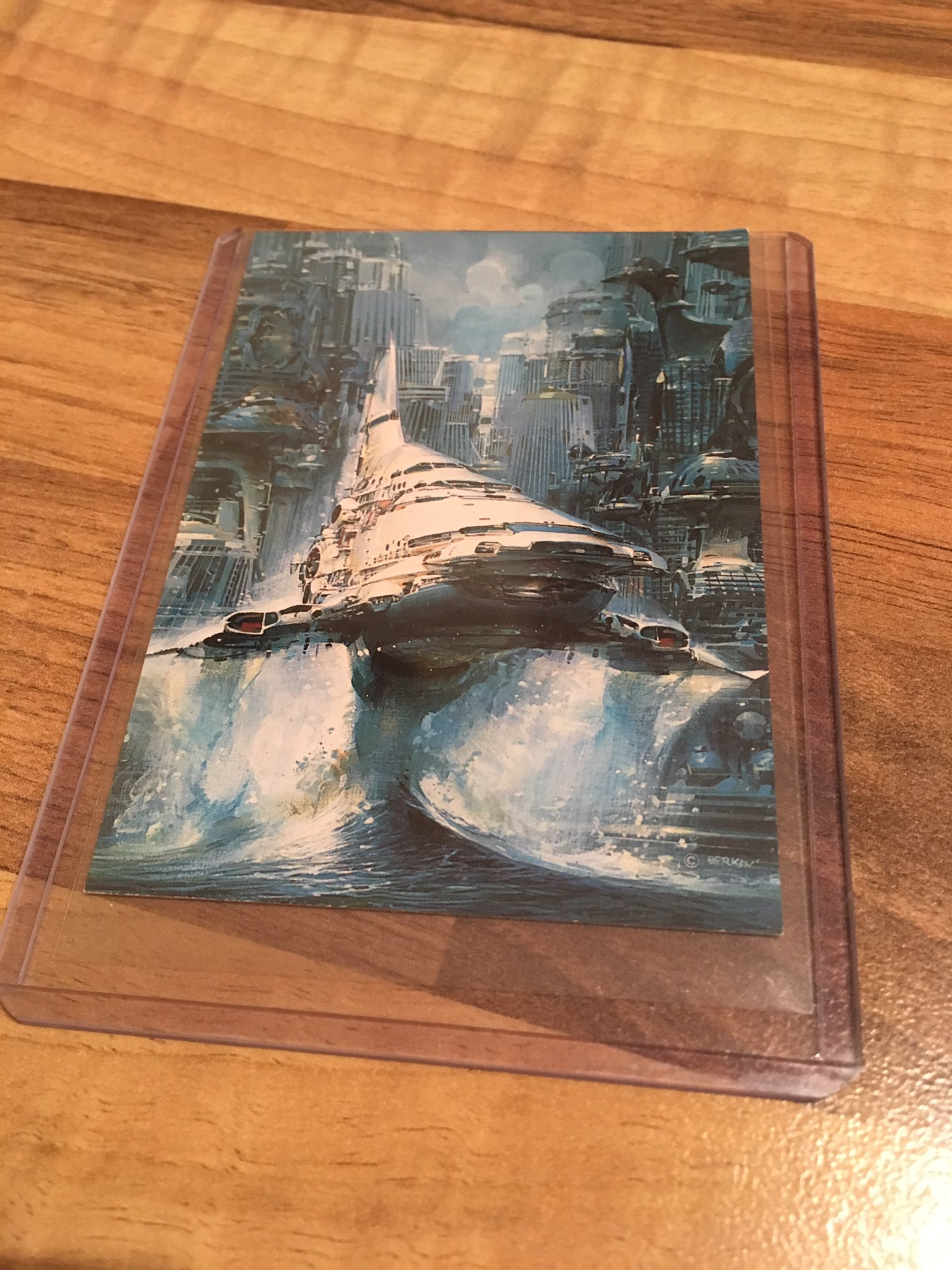 John Berkey Trading Card (Disposable Hero)