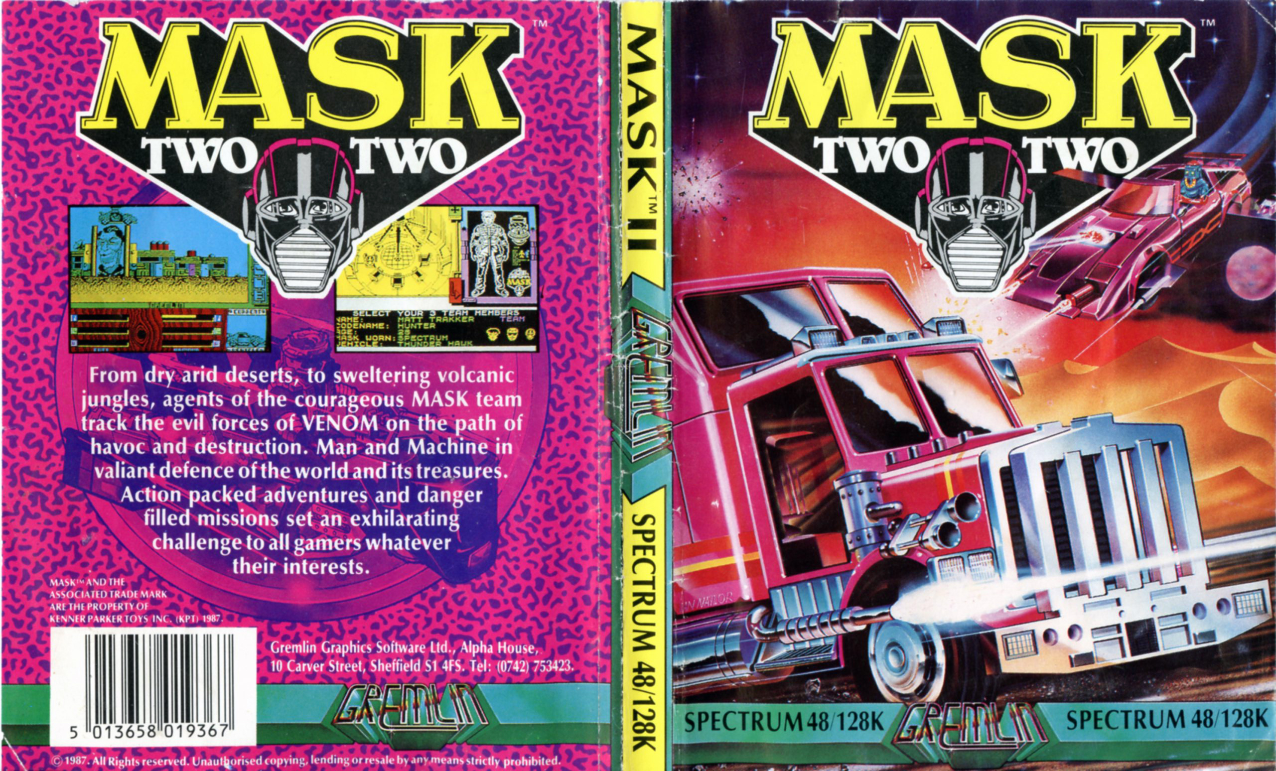 Mask II (ZX Spectrum)