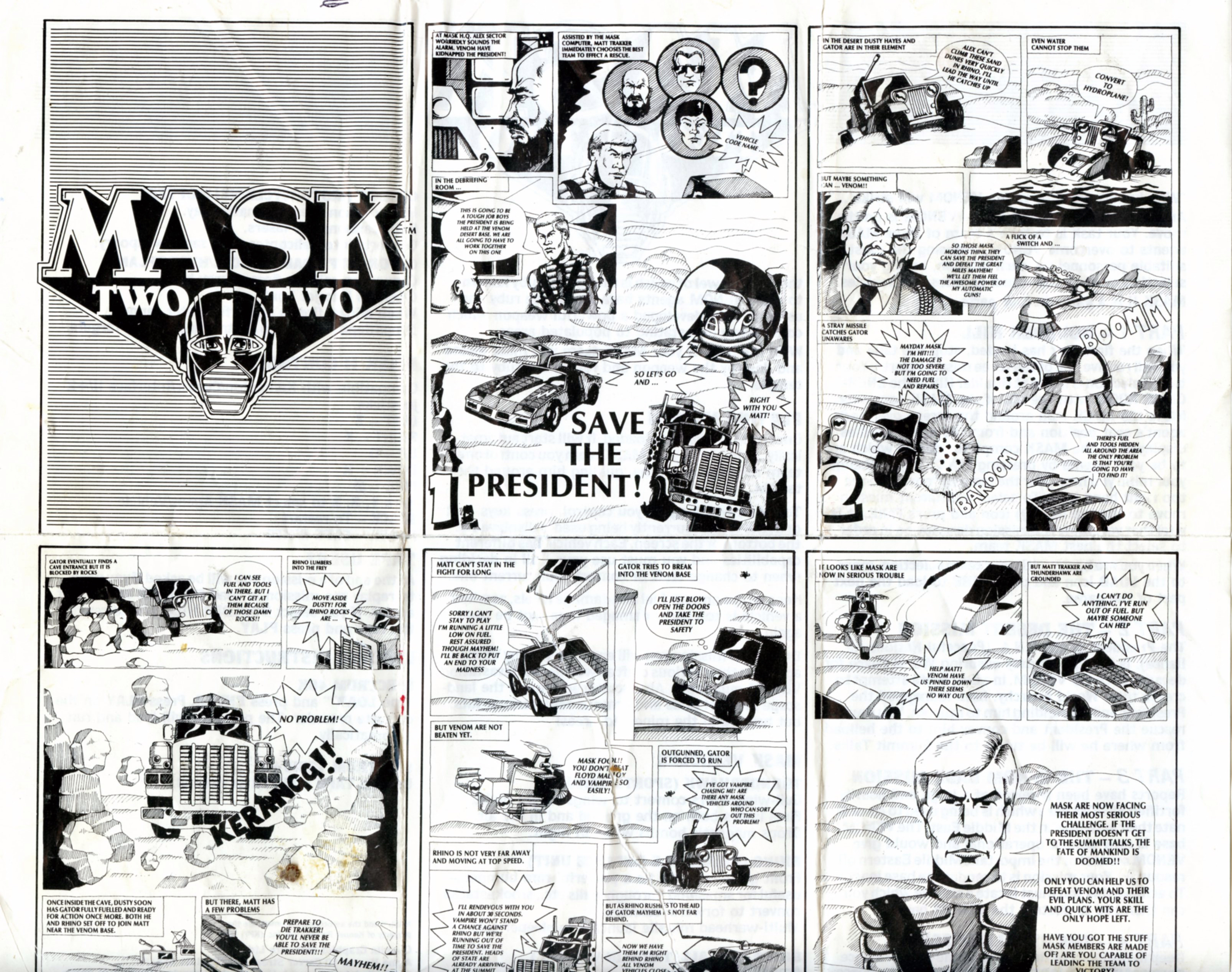 Mask II Comic