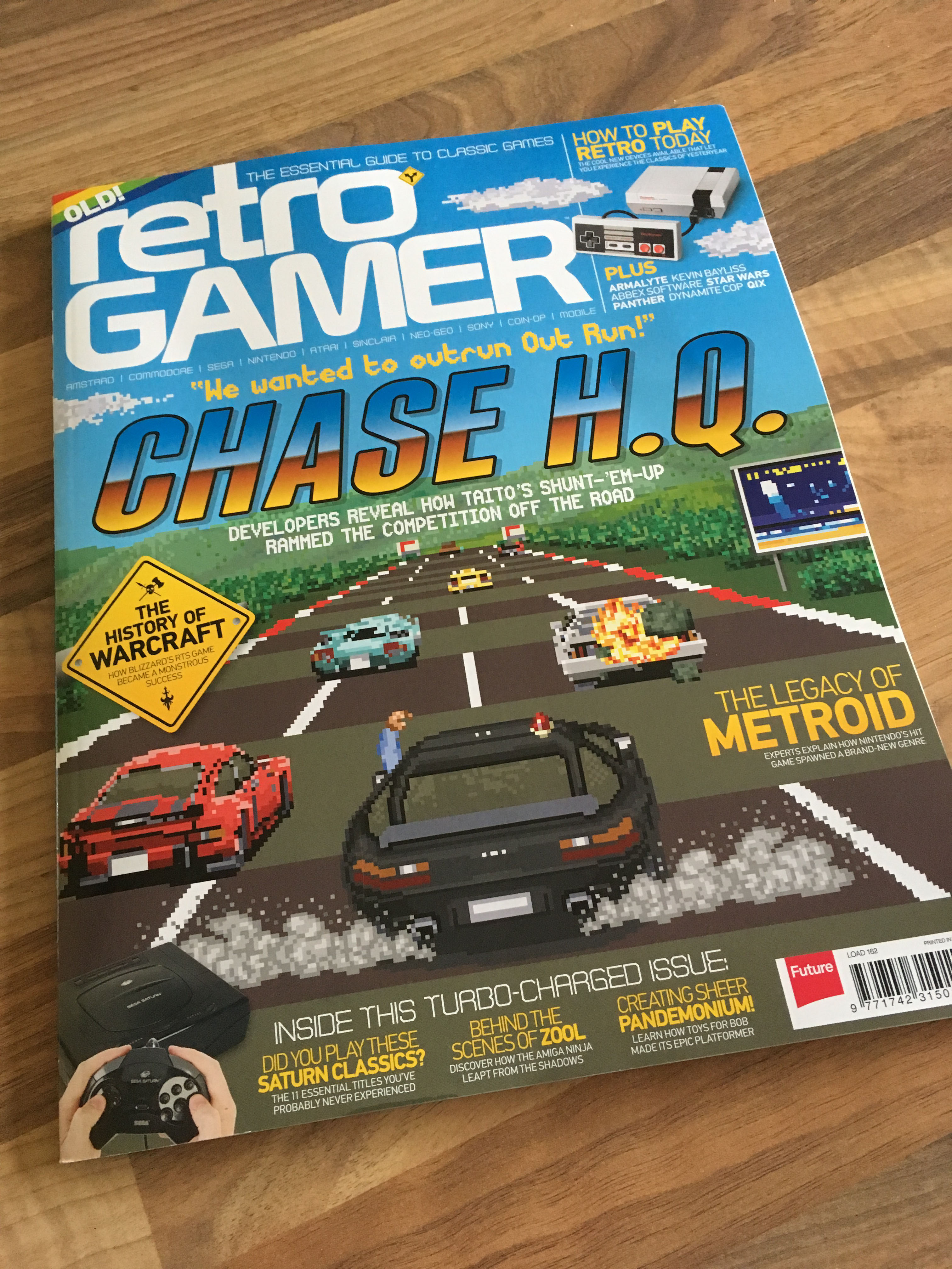 Retro Gamer – George Allan Interview (Issue 162)