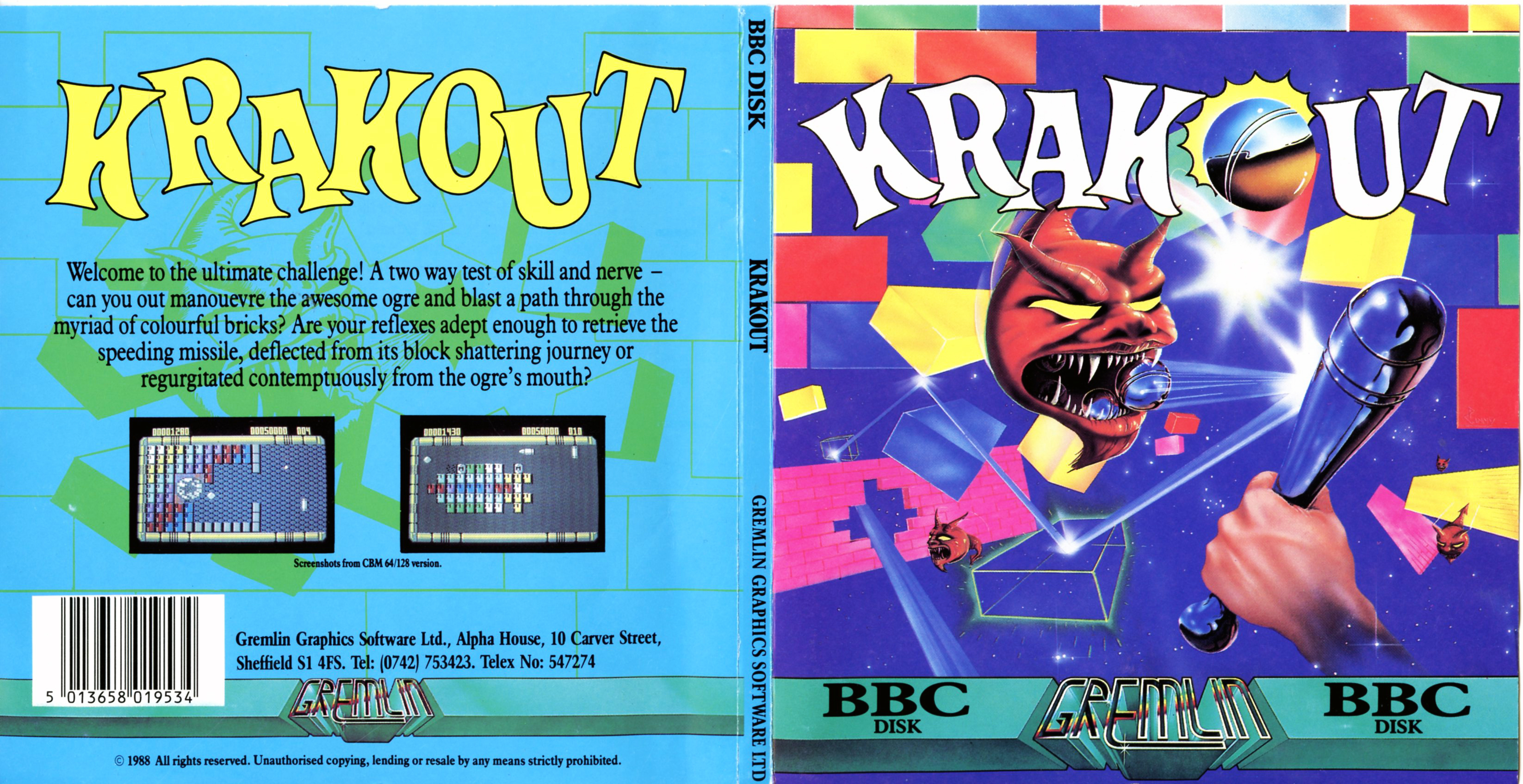 Krakout (BBC Micro Disk)