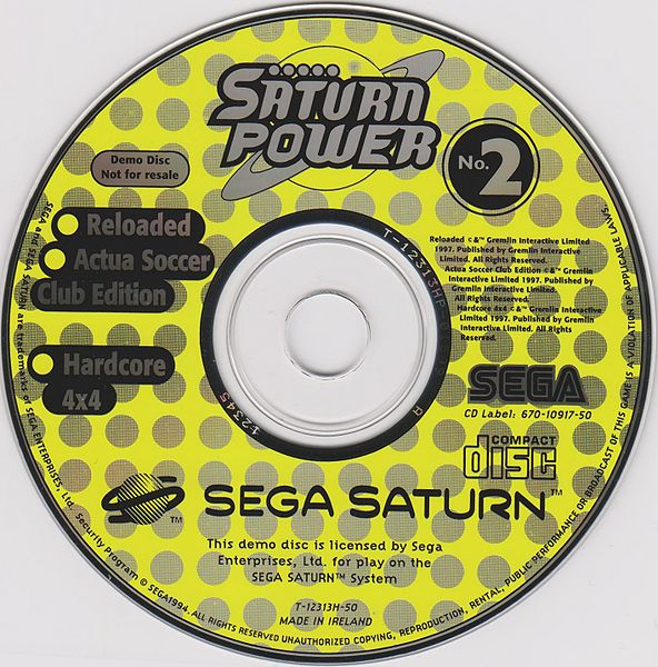 Reloaded Sega Saturn Demo