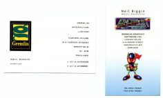 Neil Biggin Business Cards
