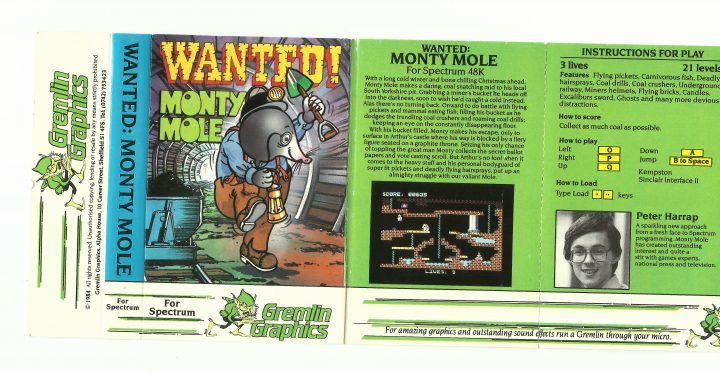 25 July 1984: Wanted: Monty Mole – The Gremlin Graphics Archive