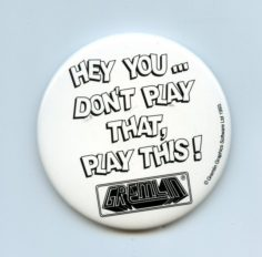 Hey Don't Play That, Play This! Badge