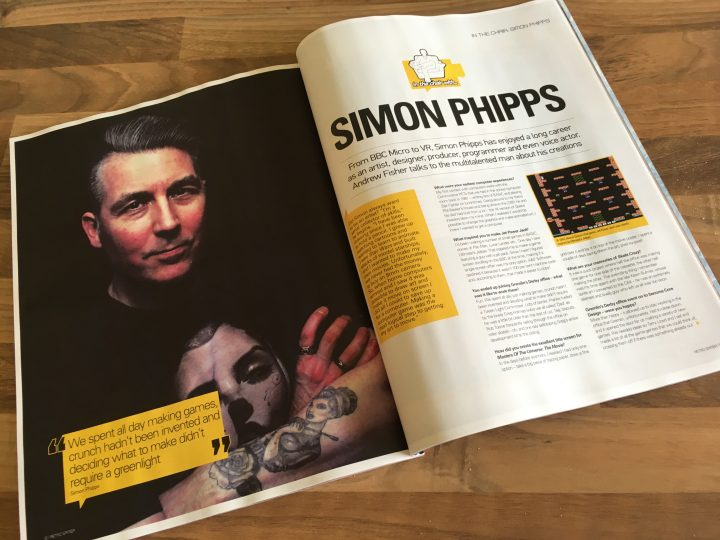 Retro Gamer issue 171 (Simon Phipps)