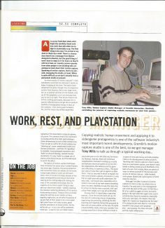 Tony Wills (Official Playstation Magazine, April 1988)