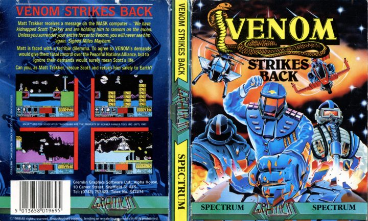 Venom Strikes Back (ZX Spectrum)