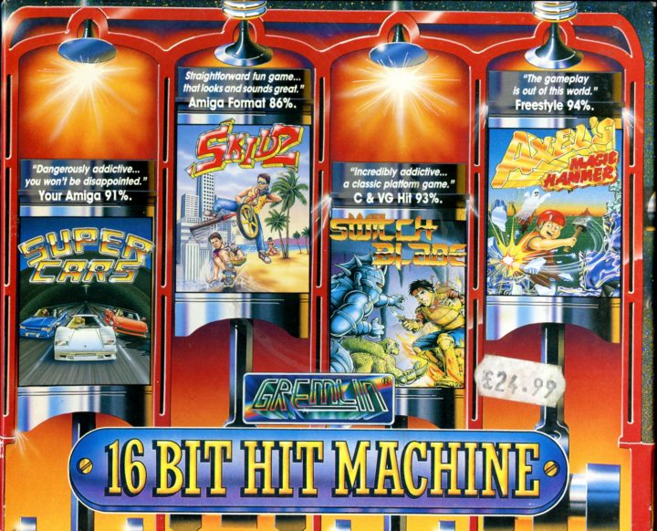 16-bit Hit Machine