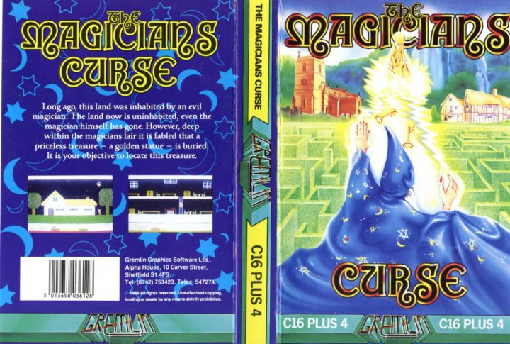 The Magicians Curse (Commodore C16)