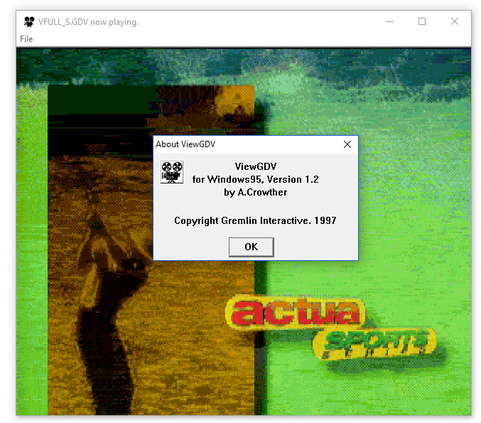 Gremlin Digital Video Player (Windows)
