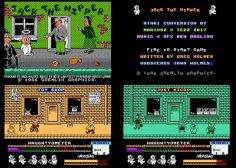 Jack the Nipper for the Atari 8-bit