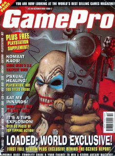 GamePro Magazine, October 1995. Loaded world exclusive!