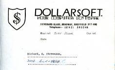 Dollarsoft Compliments Slip