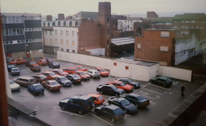 View Of The Gremlin Car Park Behind Carver Street